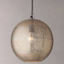 Zenza Filisky Oval Pendant Ceiling Light Buy Lewis Lyra Etched Metal Ceiling Light At Johnlewis