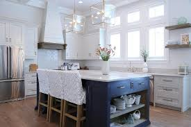 navy blue kitchen island ideas navy blue kitchen island with open shelves cottage kitchen