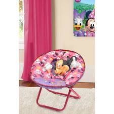 Minnie Mouse Toddler Chair Disney Minnie Mouse Toddler Saucer Chair Tv Seat Girls Furniture