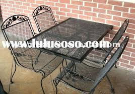 Mesh Patio Table Metal Mesh Patio Furniture Outdoor Goods