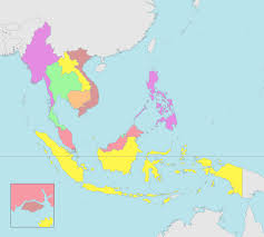 Southeast States And Capitals Map by Free Maps Of Asean And Southeast Asia Asean Up
