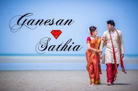 Beach Wedding Malaysian Indian Beach Wedding Ganesan Sathia Youtube