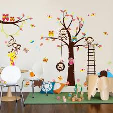 kids forest wall decals home design ideas forest friends wall decals