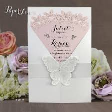 personalised handmade gatefold wedding invitations butterfly seal