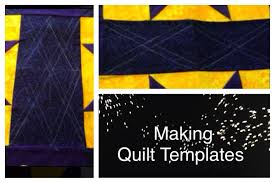 making quilt templates youtube
