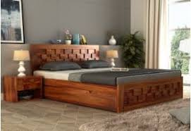 Wooden Double Bed Designs Catalogue