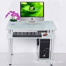 bureau ordinateur en verre qh 654 verre maison de bureau ordinateur de bureau coin bureau d