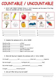 Nouns Worksheet 85 Free Esl Countable Nouns Worksheets