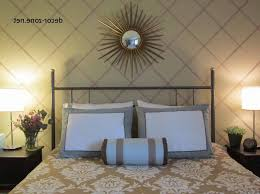 wall decor for master bedroom covered wooden bed frame under