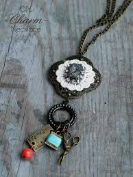 necklace charm diy images Simple diy charm necklace jpg