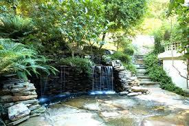 Backyard Waterfall Ideas Patio Ideas Backyard Waterfalls Kits Awesome Decorations Patio