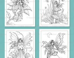 printable flower fairies coloring pages 1 4 flower
