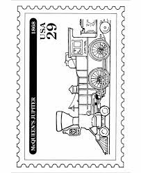 bluebonkers postage stamp jupiter coloring pages special events