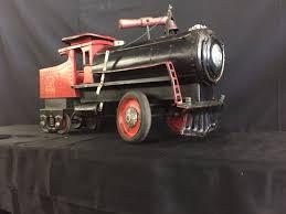 rare vintage keystone r r 6400 railroad train engine pressed
