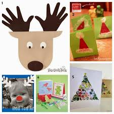 make christmas cards learn with play at home 25 christmas card ideas kids can make