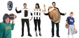 Football Halloween Costumes Stand Stands Halloween Costumes Sports Fans