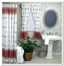 Fabric Shower Curtains With Matching Window Curtains Bathroom Shower Curtains And Matching Window Curtains Shower