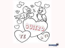 imagenes bonitas de te amo para dibujar imagenes para colorear de amor fotos faciles dibujos animados