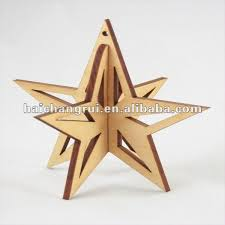 source 3d decoration wooden hunging ornament on m