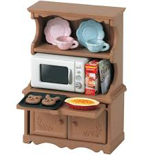 sylvanian families cupboard with oven 5023 from austins