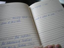 thick writing paper notebook review notes in a book page 5 you get a good amount of space in each day and of course like most weekly view diaries the weekend space is smaller the paper is good thick cream paper