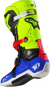 motocross boots alpinestars alpinestars tech 10 a1 le boots product spotlight motocross