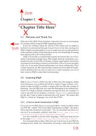 latex typesetting for individuals