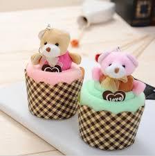 Creative Wedding Presents Wholesale Creative Wedding Party Gifts Teddy Bear Cup Cake Towel