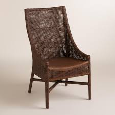 World Market Dining Room Table by Brown Woven Rattan Carson Chairs Set Of 2 World Market X2 Host