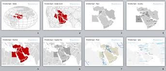 middle east map ppt middle east map powerpoint