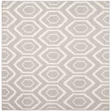 Grey Dhurrie Rug Safavieh Moroccan Reversible Dhurrie Grey Ivory Wool Indoor Rug 8