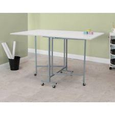 Folding Sewing Cutting Table Sewing Craft Cutting Table Quilting Hobby Folding Home Workspace