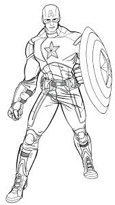 captain coloring pages avengers lego marvel superheroes printable