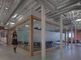 Creative Office Design Division Btw Two Spaces Demand Media Creative Design Creative