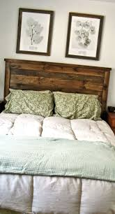 ana white rustic headboard diy projects inspirations weathered