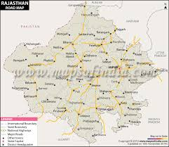 map in road rajasthan road map