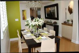 ideas for decorating kitchen dining room table decorating ideas pictures the intended for