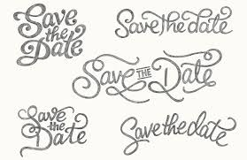 save the date designs coullon graphic design typography lettering