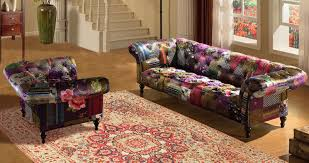 Patchwork Chesterfield - avici scroll chesterfield 3 1 luxury fabric patchwork sofa suite