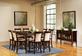 counter high dining room sets buy marseille counter height dining room set by steve silver from