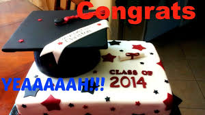 how to make a graduation cap fondant cake youtube