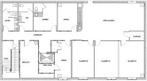 Finished Basement Floor Plan Ideas Rectangular Basement Floor Plan Ideas On Basement Floor Plans
