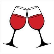 glasses clipart glasses of red wine vector clip art food and drink vectors