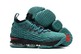 Nike Light New Arrival Nike Lebron 15 Light Green Black Red 2017 Nike Air