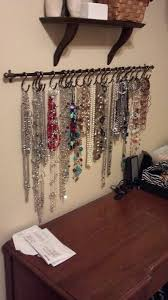 jewelry holder necklace images 15 cute diy hanging jewelry holders that store your stuff without jpg