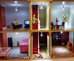 easy led doll s house lighting 3 steps