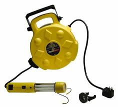 bayco led portable work light bayco sl 8907 13w fluorescent spot work light with 50 reel ebay