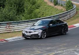 2018 bmw m2 cs prototype spotted at nurburgring video