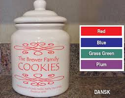 personalized cookie jars personalized cookie jar click for design choices closinggifts
