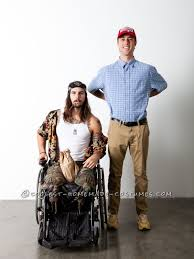 forrest gump costume dan and forrest gump take by